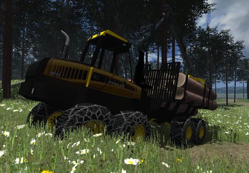 Ponsse forest machine