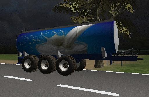 20000 Liters MilkTrailer