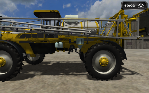 Rogator Sprayer