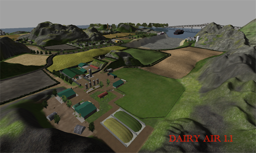 Dairy Air v1.1 (Fixed Silage Clamps)