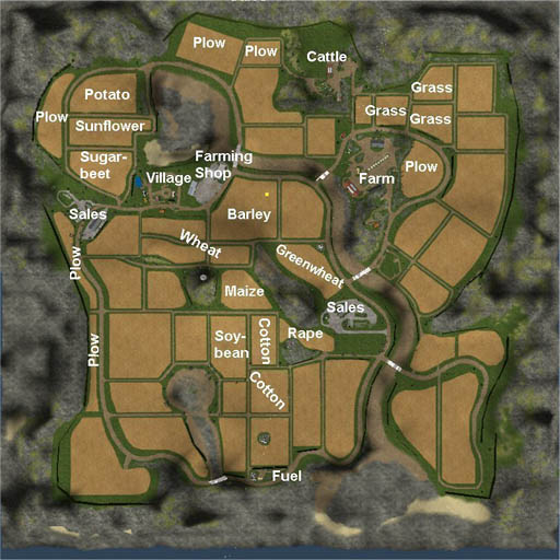 Farming Simulator 2011 Map v4 by wopito
