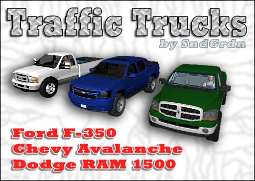 Traffic Trucks Pack