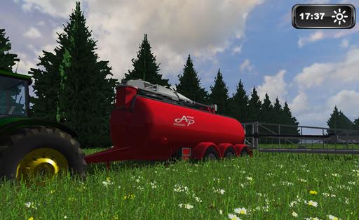 AP 25T Slurry Tanker