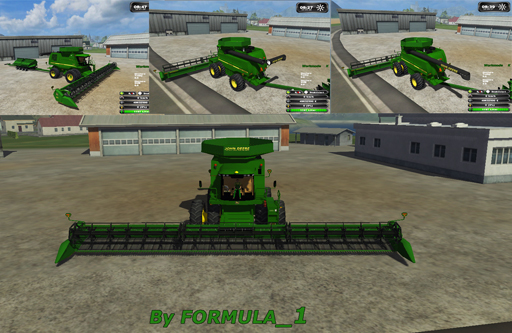 JOHN DEERE 9870 BIG HARVEST PACK