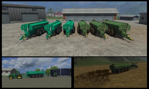 Houle Manure Tank Pack