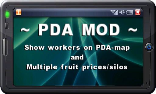 PDA MOD for Workers/MultiFruit (v0.94 beta)