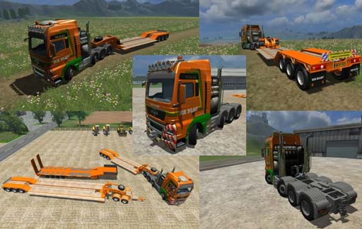 Heavy transport pack Van der Vlist