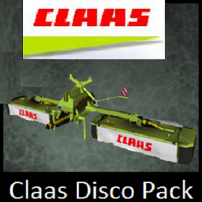 Claas Disco pack