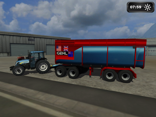 Gehl Grain Trailer By Wis-Tex