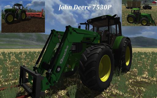 John Deere 7530P