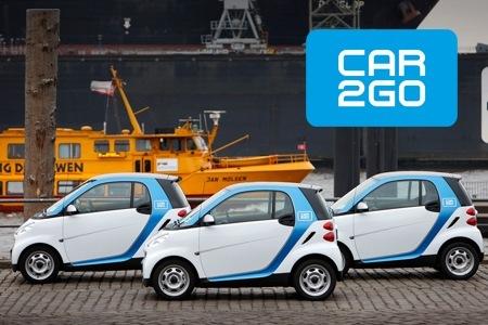 Groupon: car2go Hamburg Anmeldegebühr + 60 Freiminuten - für 14,50€ beim Carsharing einsteigen!