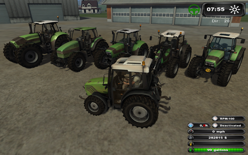 FS2011 Deutz Tractor Pack (Washable) V1.01