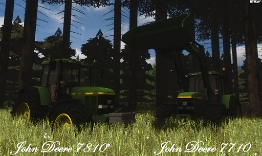 John Deere 7710 & 7810