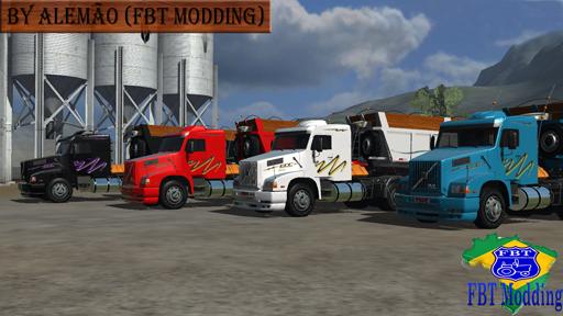 Volvo NL12 e Caçamba Randon Linha (R)