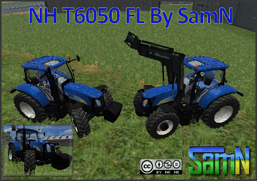 NewHolland T6050 FL By SamN