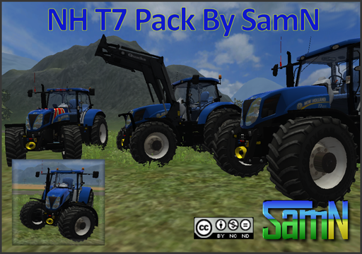 NewHolland T7 Pack By SamN