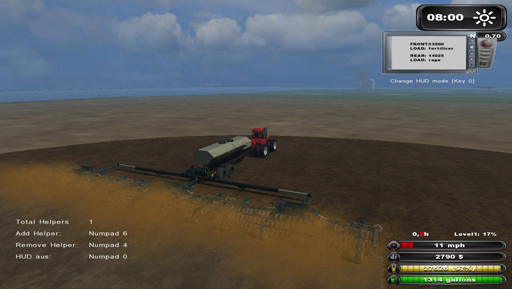 RAI Big Farm Seeder