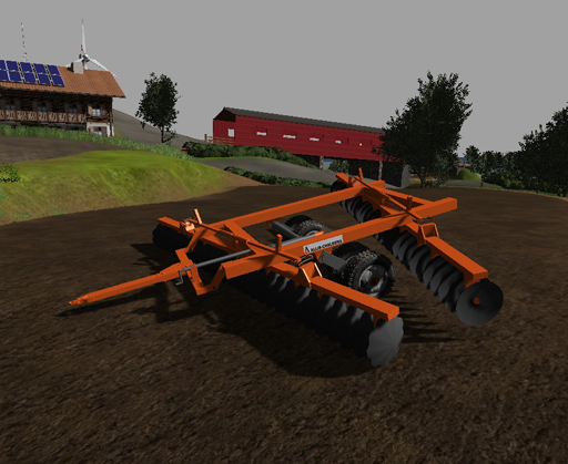 Allis Chalmers Offset Disk Harrow (fixed version)
