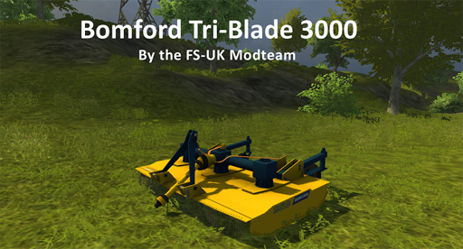 Bomford Tri-Blade 3000