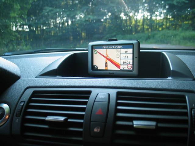 Einbausatz Navigation Portable 120d E87 Vfl Bj 08 2005