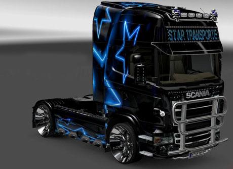 Scania star transporte skin