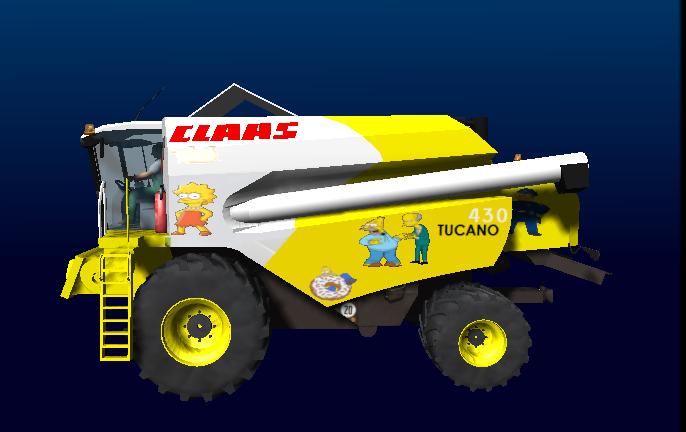 Claas Tucano 430