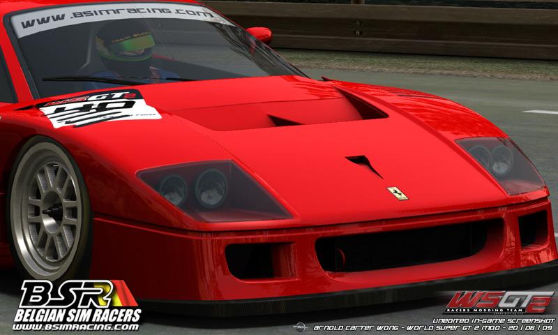 Ferrari F40 Wallpaper. WSGT2: [WIP Shots] FERRARI F40
