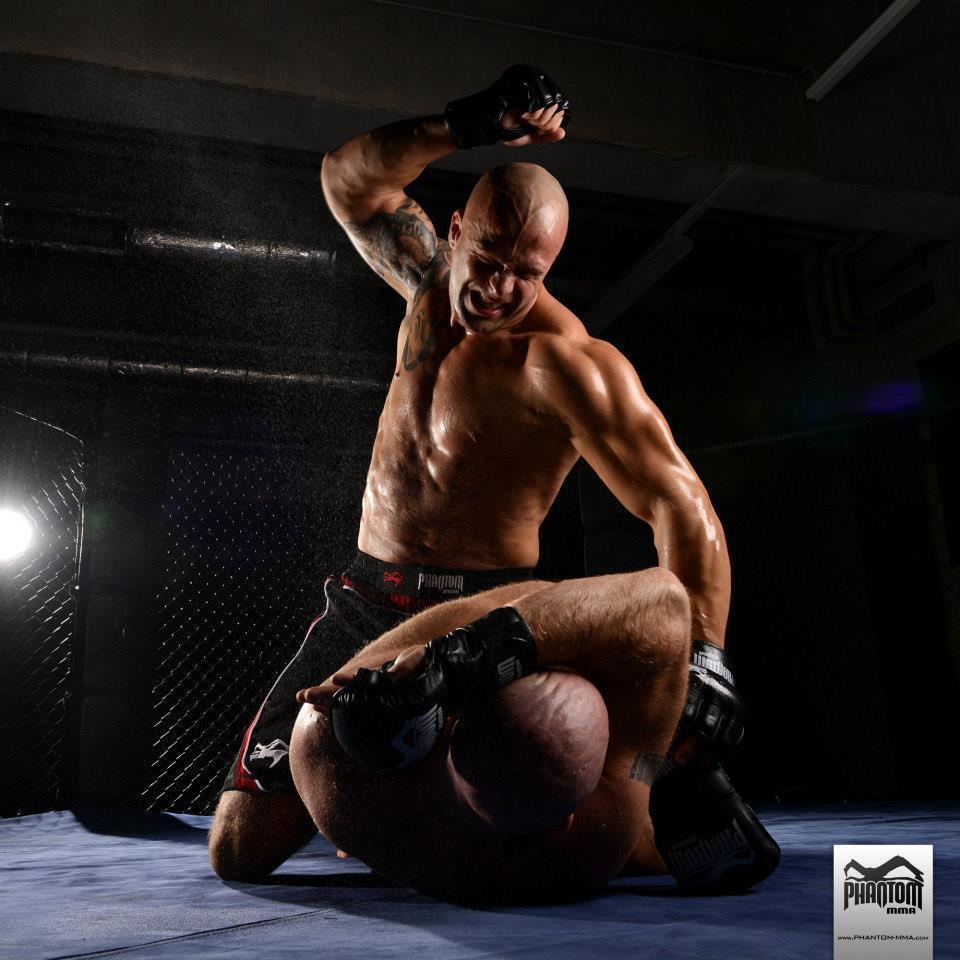 Will demnächst einen Erfolg in der UFC: Nandor Guelmino. (Foto: Phantom MMA)