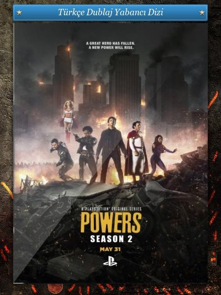 Powers 1.Sezon Tüm BölümlerBRRip Türkçe Dublaj indir