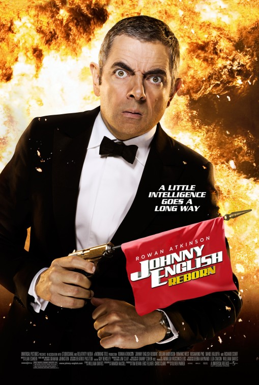 Johnny English Reborn Poster