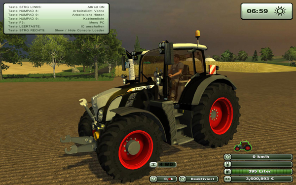 Fendt Vario 724 SCR Black Beauty