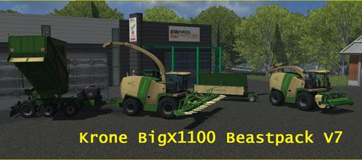 Krone BigX 1100 BeastPack