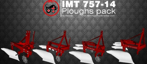 IMT 757-14 ploughs pack