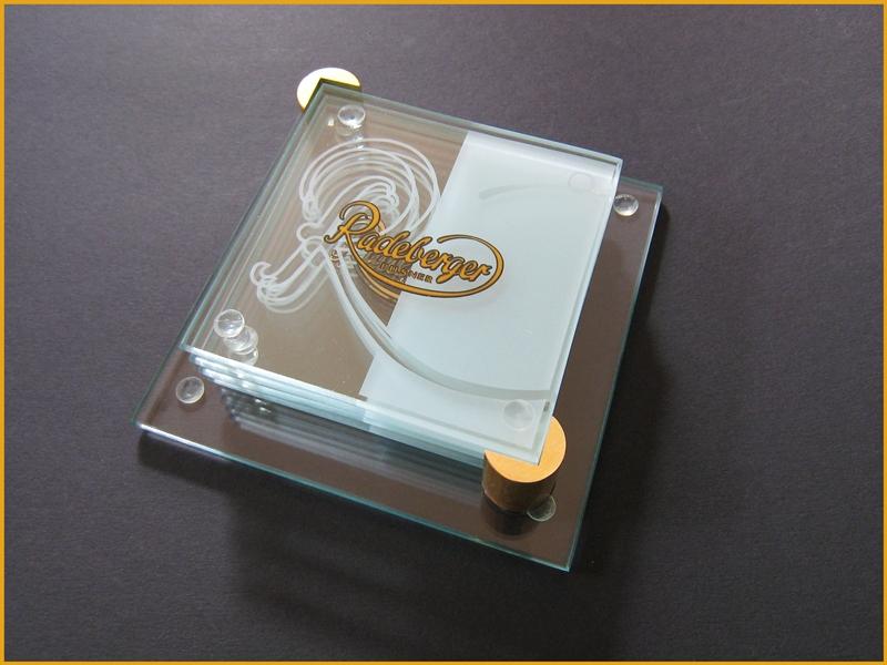 radeberger untersetzer bierdeckel aus glas kaufen bei. Black Bedroom Furniture Sets. Home Design Ideas