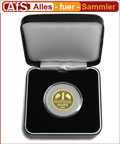 1 DM Goldmark 999er Gold im Etui