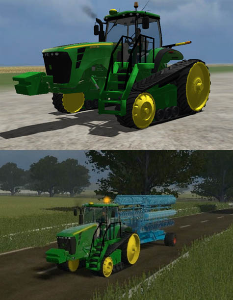 John Deere 8345RT (UK & US version)
