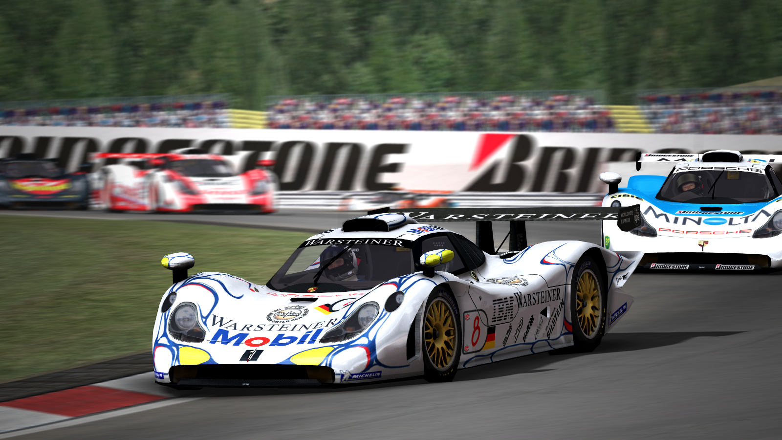 rot teufel simscreens gtr2 porsche 911 gt1 nurburgring. Black Bedroom Furniture Sets. Home Design Ideas