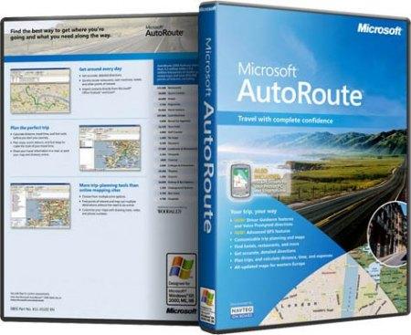 Microsoft AutoRoute 2011 (WIN32/WIN64)