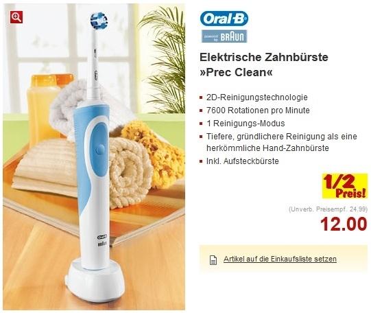 braun oral b professional care 500 elektrische zahnb rste. Black Bedroom Furniture Sets. Home Design Ideas