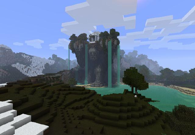 Minecraft Spielen Deutsch Minecraft Haus Im Berg Ideen Bild - Minecraft haus bauen im berg