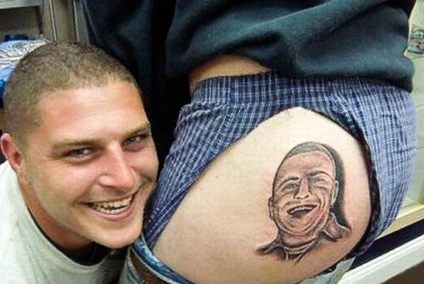 Dziwne i śmieszne tatuaże 30
