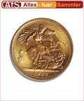 Sovereign 1 Pfund 7,32 g Goldmünze Anlagemünze