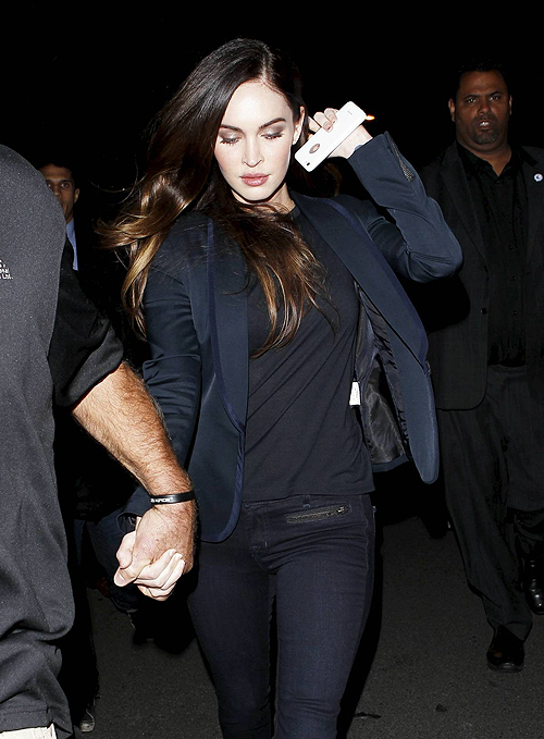 Megan Fox Unveils Slim Post Baby Body Private Screening Of This Is 40