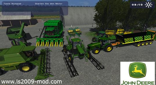 John Deere MOD Pack (17 mods)
