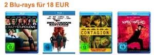 2 Blu-rays 18 Euro
