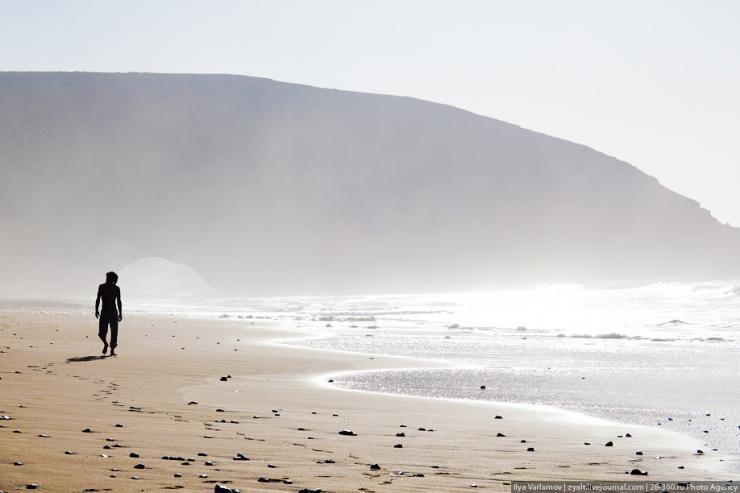 Plaża Legzira w Maroko 13