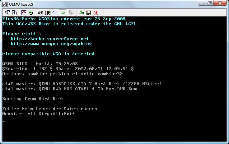 ubuntu] KVM: Creating a VM for Windows-Guest