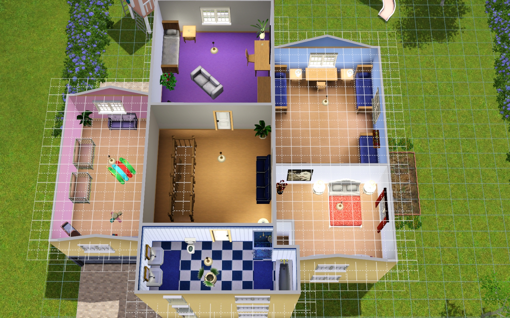 Contest) baut ein großfamilienhaus   das große sims 3 forum von ...