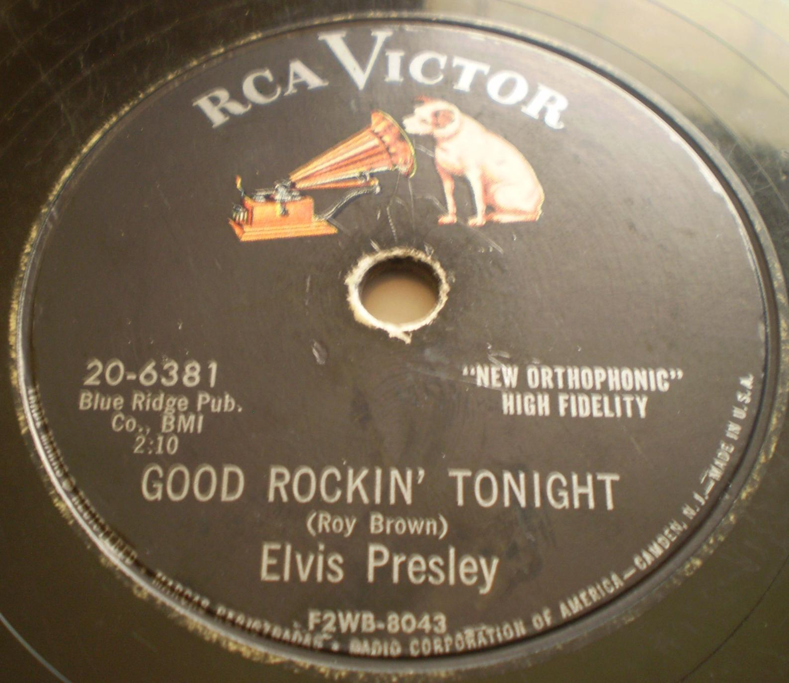 Good Rockin' Tonight / I Don't Care If The Sun Don't Shine 20-6381a4bb2b