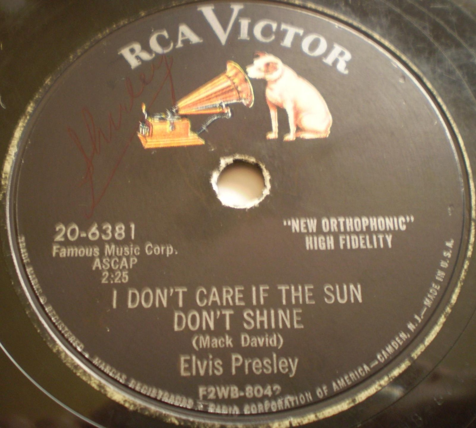 Good Rockin' Tonight / I Don't Care If The Sun Don't Shine 20-6381bd2bv1